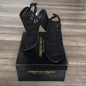 ⚡️New Item In! NEW Christian Siriano Black Heels